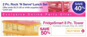be sure to click on any shopping link to ensure that youre participating in my tupperware online party my tupperware online party will last until may