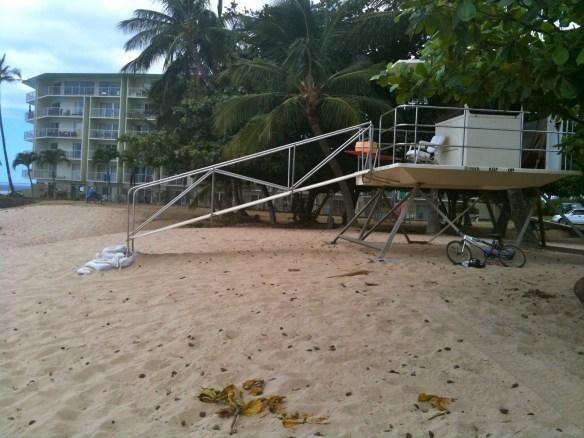 lifeguard chair plans build