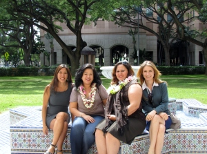 (L-R) Maile, Colleen, Geanine, & Heather