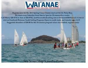 2013 WYSP spring flyer