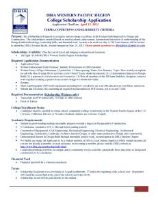 DBIA Scholarship Application_Page_1