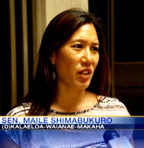 Sen. Shimabukuro on KITV News 3/15/13.