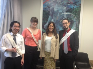Maile met with University of HI law students regarding the GMO labeling bill on 3/21/13.  L-R: Matthew Yoshida, Adair Fincher, Maile, and Christiaan Mitchell.  Here is a link to HB 174: http://www.capitol.hawaii.gov/measure_indiv.aspx?billtype=HB&billnumber=174