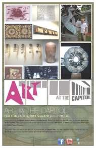 Art at the Capitol 2013 Flyer Big