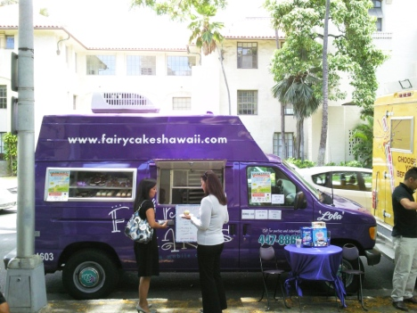 Fairy Cakes Food Truck at Leeward CC Wai'anae parking lot Apr. 15 Monday 11am-1pm