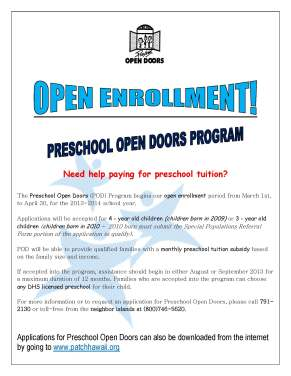 OPEN ENROLLMENT FLYER 2