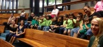 Punana Leo o Wai'anae preschool students visited the Capitol on 4/11/13 to support early education initiatives.