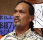 Moses Haia III, executive director of the Native Hawaiian Legal Corporation