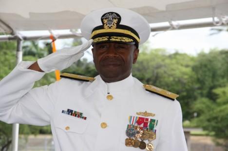 """Rear Admiral Fernandez """"Frank"""" L. Ponds, USN"""