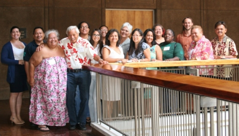 Hawaiian community leaders met  at the State Capitol on July 24, 2013, to develop solutions for DHHL audit findings. They're scheduled to meet again on August 14 and September 3.