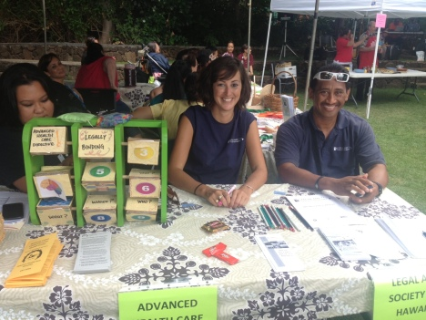 Carly Williamson and John Kaaihue represented The Legal Aid Society of Hawaii.