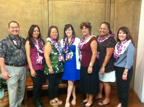 Congratulations to the DOE's Waianae Complex Student Services Coordinators for a job well done! [Photos provided  by Lori Simbahon]