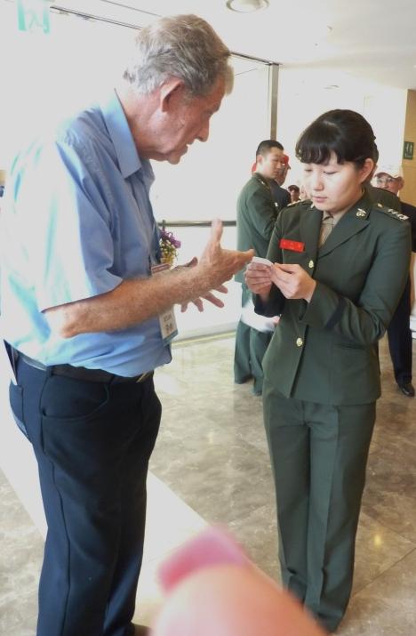 Brooks & Korean Visit Coordinator.