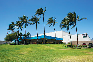 The 140,000-square-foot Ball Corp. plant in Kapolei.