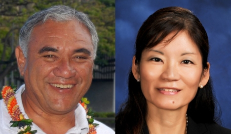 William Aila Jr. and Phyllis Shimabukuro-Geiser are both from Wai'anae.