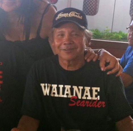 Calvin Domen, a 1963 Wai'anae High School graduate and Wai'anae Coast resident, in a December 2010 photo from the 21maile archives.