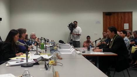 Wed., Mar 11, 2015, at 1pm. The questions from the Senate are now in the first hour in hearing from the Governor's choice to head DLNR, Carleton Ching. — at Hawaii State Capitol.