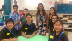 Waianae elementary and Hongwangi student council.
