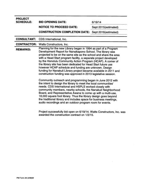 Nanakuli Public Library DAGS Job No 12-36-6513 Project Info Sheet 8-7-15_Page_2
