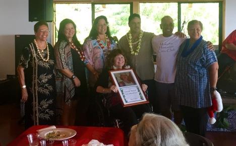 Emily Auwae; Nalei, Lisa, Shannon, & Dannon Ka'aekuahiwi; John DeSoto; Georgianna Navarro