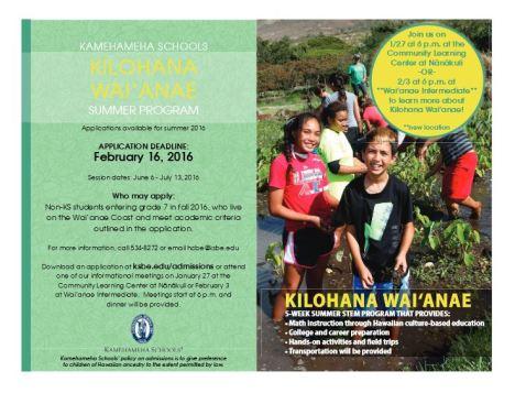 Kilohana Waianae