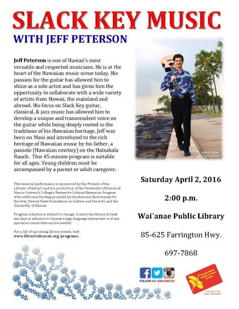 Jeff Peterson flyer own april2016
