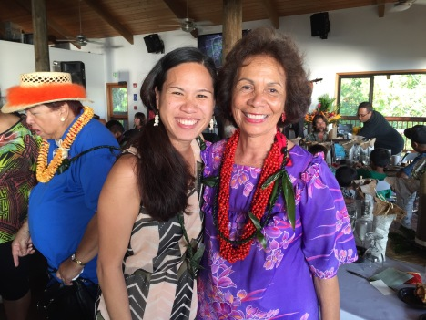 Summer and Aunty Mele. Click here to view the album of photos from 2016 .Punana Leo o Wai'anae Ku'ikahi Event