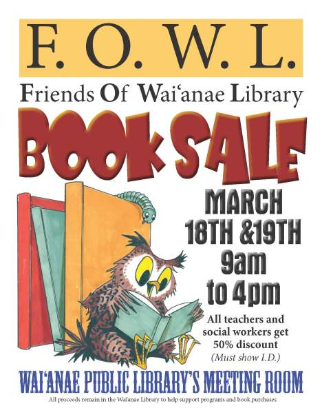 2016 FOWL book sale