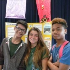 L to R: Nicolas Elvenia, Sadie Reyes, and Isaiah Kaeo