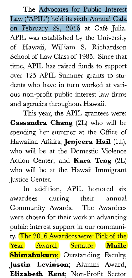 From the Hawaii Bar Journal, May 2016, p30.