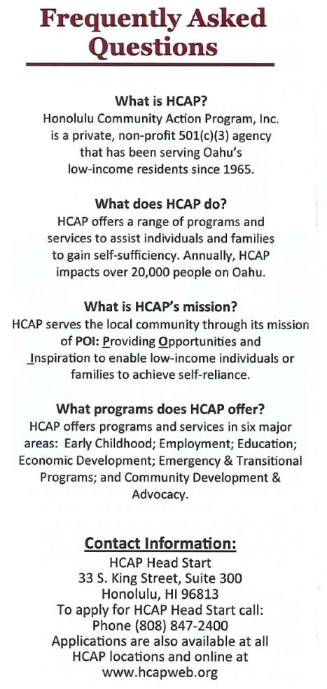 HCAP Brochure1