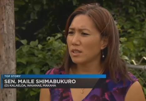 Sen. Maile Shimabukuro 7/6/16.