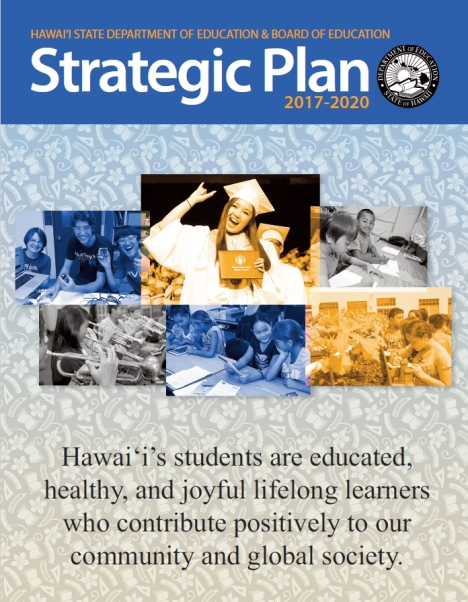 Hawaii DOE/BOE Strategic Plan 2017-2020