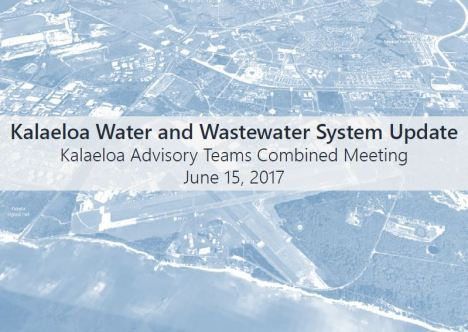 Kalaeloa Water Company_PowerPoint Presentation_June 15 2017