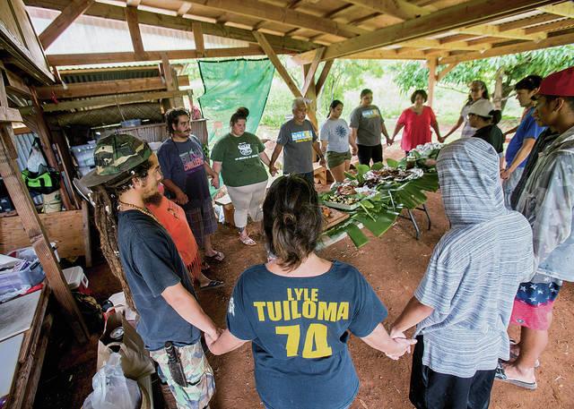 SA 'Students plant future, restore past at Ka'ala Farm in