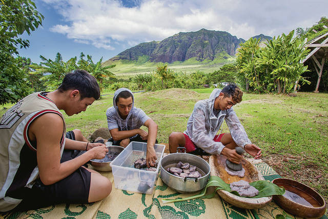 SA 'Students plant future, restore past at Ka'ala Farm in